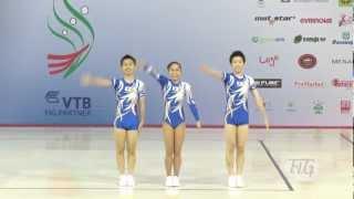 Trio Japan - Aerobic World Age Group 2012