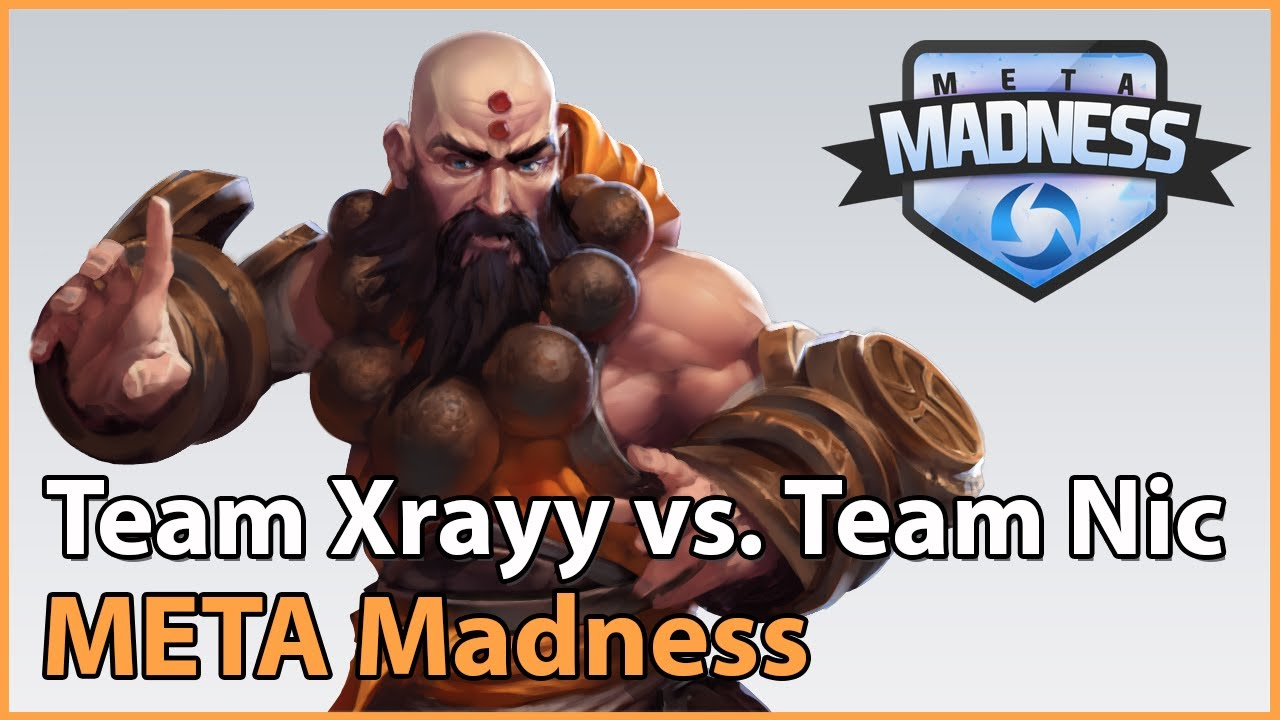 ► Team Xrayy vs. Team Lauber - META Madness Groupstage - Heroes of the Storm Esports