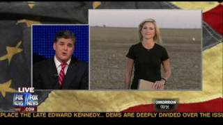 Sean Hannity with Ainsley Earhardt covering the Delta Smelt and CA Farmers