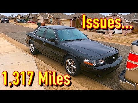 $6700 EBay 2004 Mercury Marauder Florida To Oklahoma Drive - There Were Issues