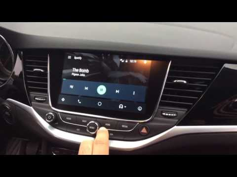 Android Auto in Astra K ST
