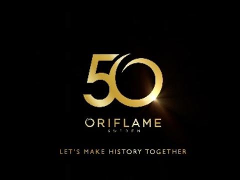 Oriflame 50 years anniversary youtube oriflame 50 years anniversary stopboris Choice Image