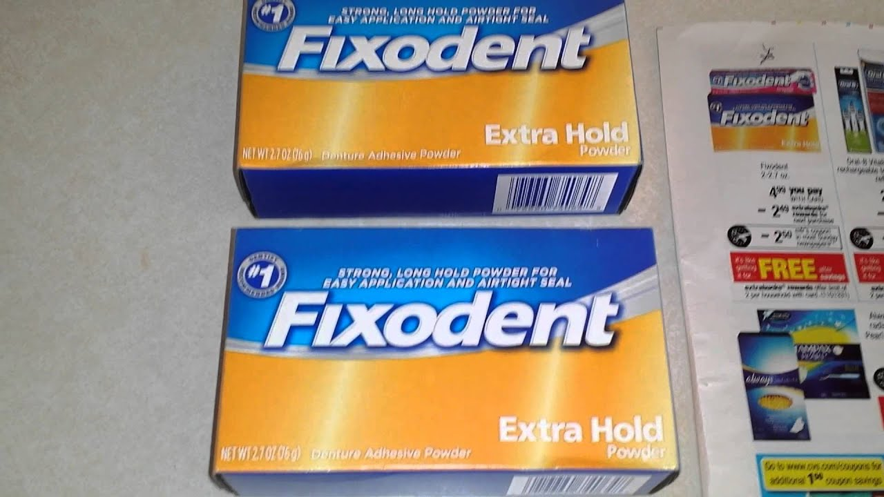 Unusual Uses for Fixodent for Preppers and Survivalists! Free at CVS this  Week! :)