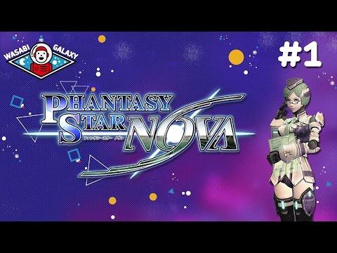 Phantasy Star Nova – Gameplay Part 1 ► Character Creator + intro ◀ playstation vita walkthrough