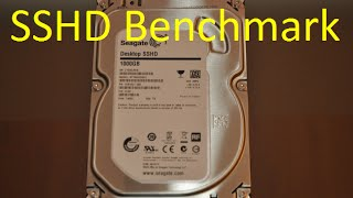 Seagate 1TB SSHD | HD Tune PRO | benchmark