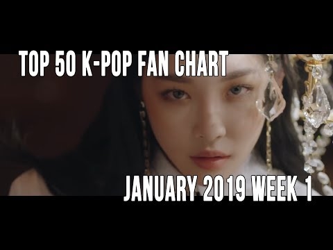 Top 50 K-Pop Songs Chart - January 2019 Week 1 Fan Chart Mp3