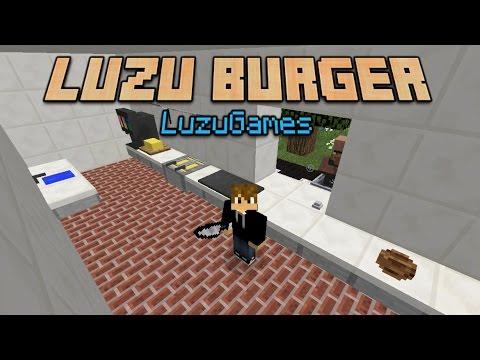 LUZU BURGER!!! - Order Up MiniGame - [LuzuGames] thumbnail