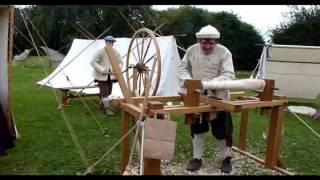 Joseph Moxon Seventeenth Century Lathe And Great Wheel At Belbroughton Scarecrow W/e 2012