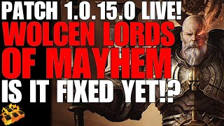 *new* Wolcen Lords Of Mayhem Patch 1.0.15.0! Is It Fixed Yet!? Wolcen Gameplay!!! My Review!!!! :-