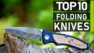 Top 10 Best Folding Knives for Outdoors Survival & Tactical