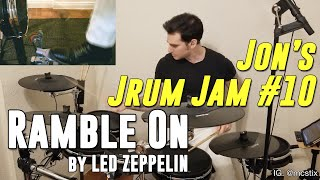 Ramble On - Led Zeppelin - Drum Cover