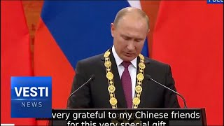 Xi and Putin Hit It Off in China: Visit Marked by Lavish Gift-Giving and Friendship Pledges