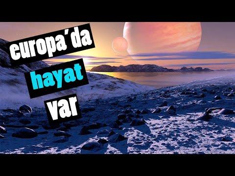 İçerisinde Devasa Yeraltı Okyanusu Bulunan Jüpiterin Uydusu Europa