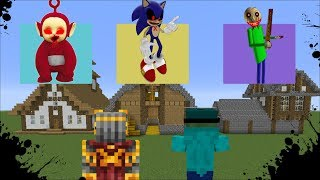 DON'T CHOOSE THE WRONG SPOOKY HOUSE MINECRAFT / MAKE SURE YOU DON'T DIE!! Minecraft Mods