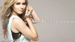 Bridgit Mendler - Forgot To Laugh (with lyrics)
