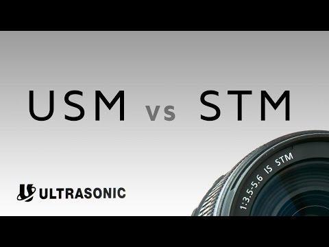 Canon EF Lenses: Ultrasonic Motors VS Stepping Motors (USM vs STM)