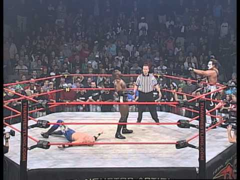 Final Resolution 2006: Sting and Christian Cage vs. Jeff Jarrett and Monty Brown