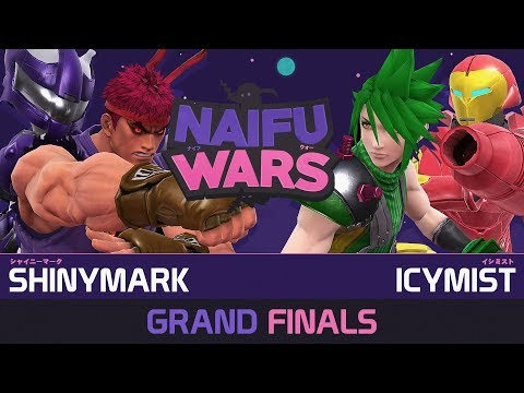 Naifu Wars #18 Grand Finals - ShinyMark ( Mewtwo, Ryu ) vs IcyMist ( Cloud, Samus ) - Smash Wii U