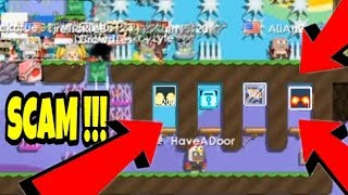 Growtopia - Making a SCAM PARKOUR #2