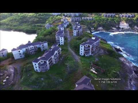 St Lucia from Above Compilation Video