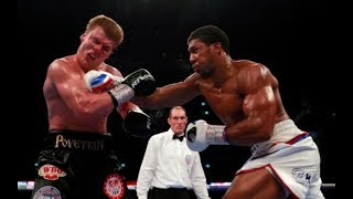 Anthony Joshua vs Alexander Povetkin Fight Highlights AAC