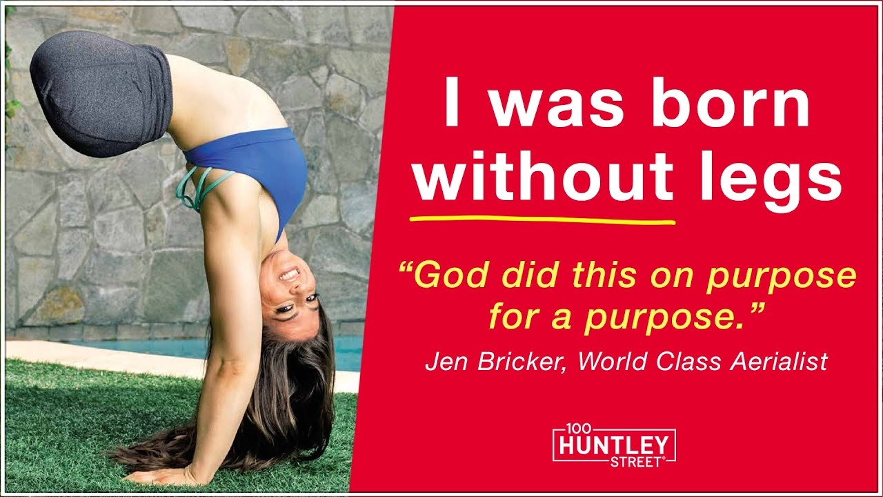 """Born without Legs, American Gymnast Believes God Did this """"for a purpose."""""""