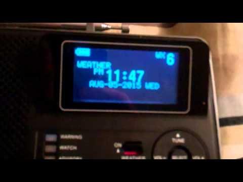 KZZ55 Dixon, IL NWR Broadcast Cycle