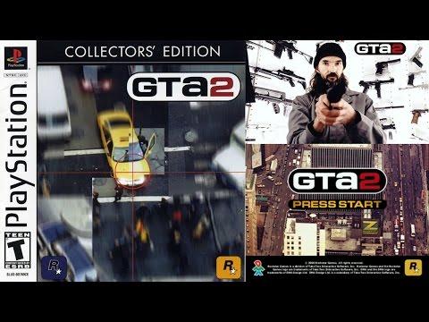 Прохождение-Обзор старой игры Grand Theft Auto 2 [GTA 2] на PS One (Playstation 1)