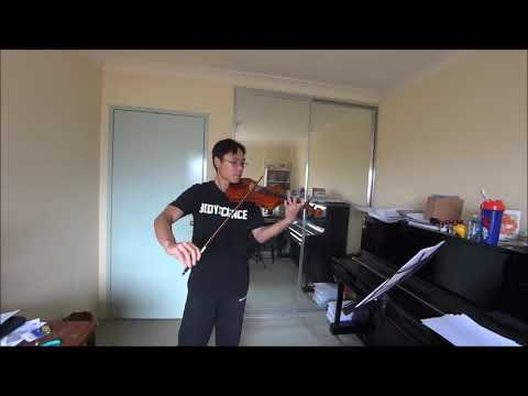ABRSM Violin 2020-2023 Grade 3 C3 Stephen Relaxing in Rio Globetrotters No.3 Performance