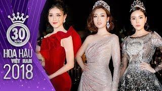 Dàn Hoa Hậu - Á Hậu các thời kỳ đọ sắc trong chung kết Hoa hậu Việt Nam
