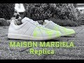 Maison Margiela Replica Fluro Painter 'white' | UNBOXING & ON FEET | luxury shoes | 4K