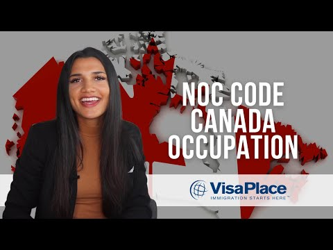 NOC Codes For Working In Canada