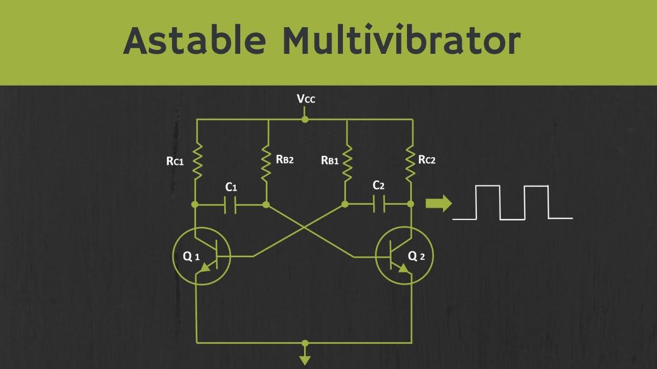 Astable Multivibrator Using Bjt Explained