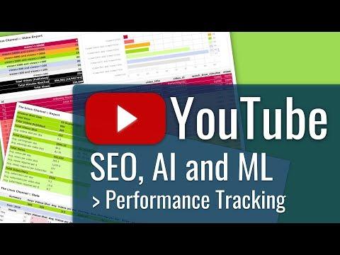 335 VLOG YouTube Performance Tracking - YouTube SEO AI Machine Learning - MySQL/PHP Analytics