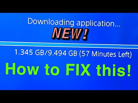 PS4 HOW TO GET FASTER DOWNLOAD SPEED NEW!