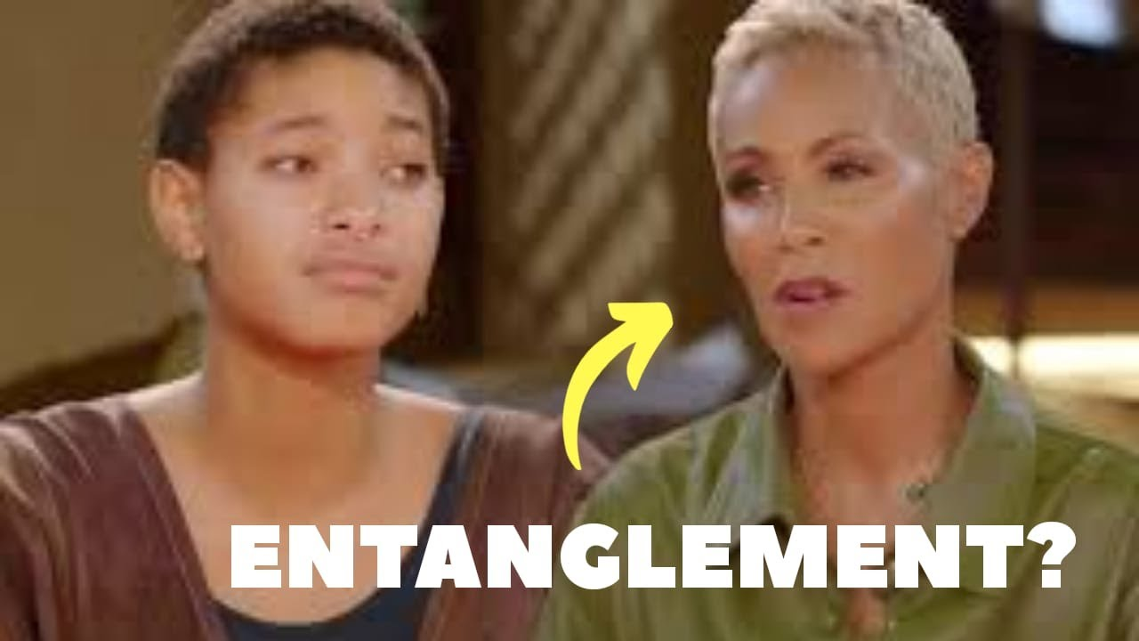 "Willow Smith reacts to her parents' ""entanglement"" episode of Red Table Talk"