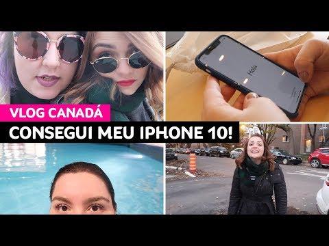 Vlog Canadá: museu, poutine, piscina, iPhone novo, compras, drinks... • Karol Pinheiro