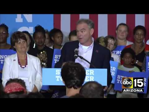 FULL SPEECH: Anne Holton & Tim Kaine rally in Asheville, North Carolina