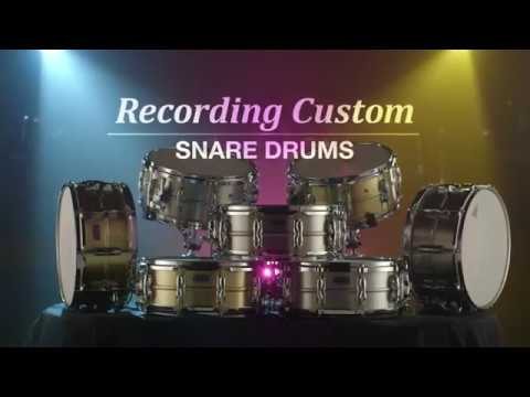 Chad Wright Interview - Yamaha Recording Custom Snare