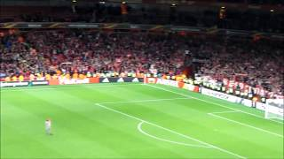 FC Köln Fans After Defeat to Arsenal