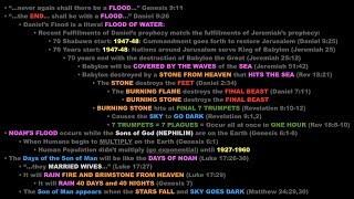 NOAH'S FLOOD is a PROPHECY