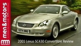 2001 Lexus SC430 Convertible Review