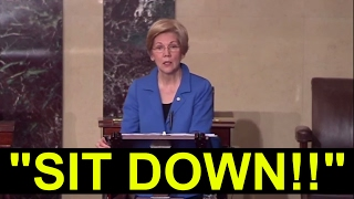 Elizabeth Warren GETS BANNED From SPEAKING at Senate Floor Warned for Imputing Jeff Session Disgrace