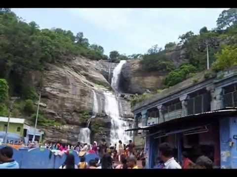Courtallam Waterfalls, Tirunelveli, Tamil Nadu, India