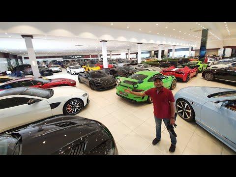 ऐसा दिखता है दुबई में एक कार शोरूम | Car Dealer in Dubai
