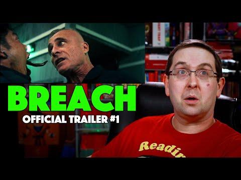 REACTION! Breach Trailer #1 – Bruce Willis Movie 2020