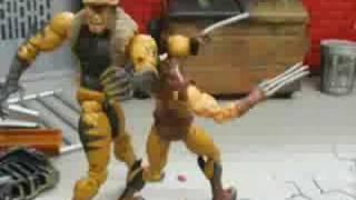 X-Men vs Brotherhood