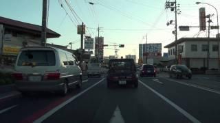 国道250号 その6 岡山県岡山市東区・上道駅前→北区・大雲寺前