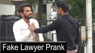 Fake Lawyer Prank | Bhasad News | Pranks In India 2018