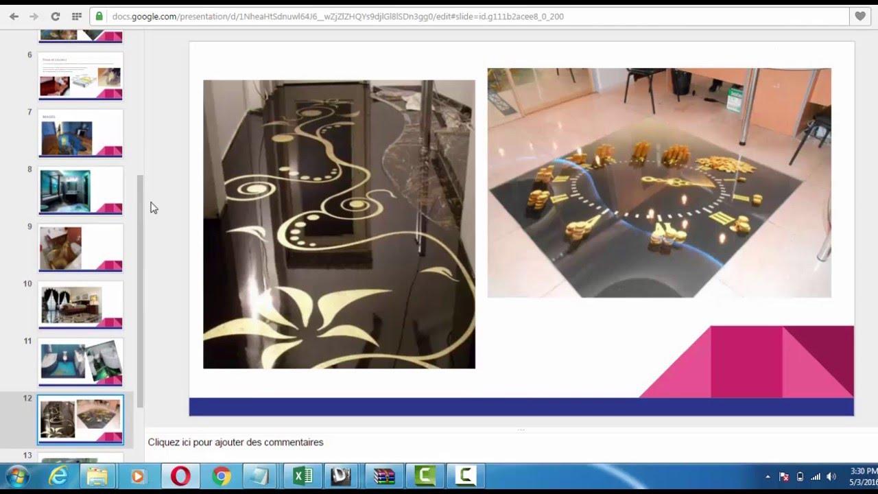 Resine Epoxy Sol Deco résine époxy décorative 3d pour sols intérieurs et exterieur